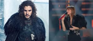 Alessandra Amoroso e il vestito come Jon Snow a Sanremo 2019