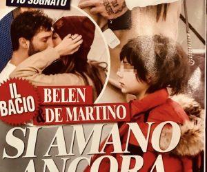 Belen Rodriguez e Stefano De Martino, ritorno di fiamma? La FOTO del bacio
