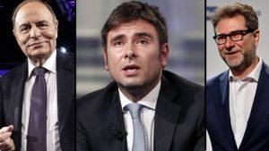 Alessandro Di Battista: Tagliare stipendi di Fabio Fazio e Bruno Vespa