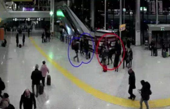 Aeroporto Fiumicino, prova a rubare borsa a coppia di francesi: arrestato