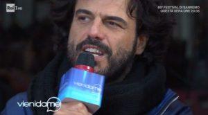 Francesco Renga e la confessione a Caterina Balivo su Sanremo