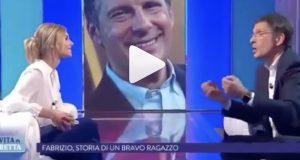 """Fabrizio Frizzi compleanno, Francesca Fialdini ricorda: """"Quando mi disse che l'amore è come una nevicata"""""""