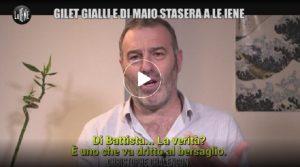 Le Iene, l'intervista a uno dei leader dei Gilet gialli Chalençon