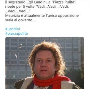 Maurizio Landini e il congiuntivo sbagliato