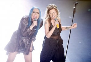 Sanremo 2019, Loredana Bertè duetta con Irene Grandi. Ed è di nuovo standing ovation