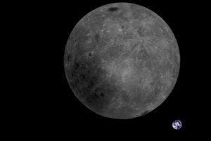 Luna, il lato nascosto e la Terra sullo sfondo: la FOTO incredibile del satellite cinese2