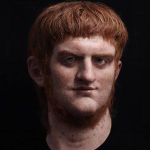 Nerone, così era la sua faccia: la scultura iperrealista di Césares de Roma ispirata a Svetonio VIDEO