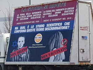 cartellone no vax