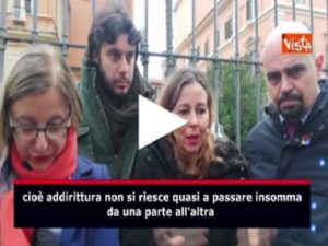 """Giulia Grillo commenta: """"Grande qualità del personale"""" ma grave sovraffollamento al Policlinico Umberto Primo VIDEO"""