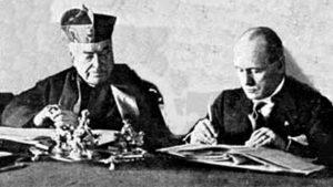 Patti Lateranensi, 11 febbraio 1929: 90 anni fa l'ex mangiapreti Mussolini poneva fine alla Questione romana