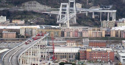 Ponte Morandi, via a demolizione moncone ovest2