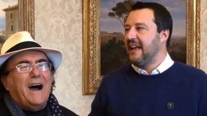 Salvini e il dilemma di Al Bano, tra Lecciso-Di Maio che rompe e Romina-Berlusconi che ammicca...