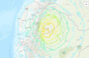Terremoto Ecuador, due violente scosse avvertite fino in Colombia