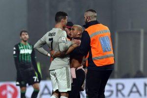 sassuolo-Juventus Daspo per invasore