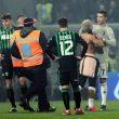 Sassuolo-Juventus, invasore di campo abbraccia Ronaldo6