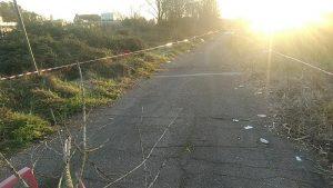 Tor di Valle, area sotto sequestro per rifiuti sparsi9