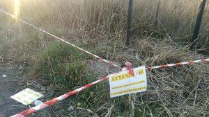 Tor di Valle, area sotto sequestro per rifiuti sparsi1