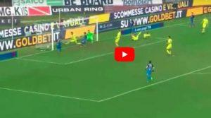 Empoli-Chievo 2-2, Caputo ha risposto a Stepinski e Giaccherini