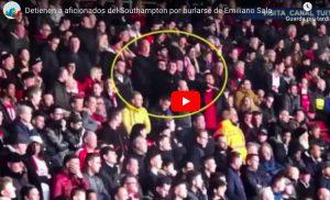 Gesto aereo per offendere Emiliano Sala, arrestati due tifosi del Southampton. VIDEO