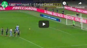 Lazio-Empoli, gol di Caicedo: Provedel gli ha regalato il rigore con un errore clamoroso
