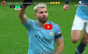Manchester City travolge Chelsea, 6-0 dopo 25': Sarri umiliato da Guardiola