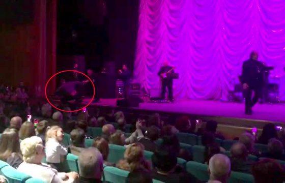 Toto Cutugno, tensione al concerto di Kiev3