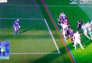 Var annulla gol Floccari contro Sampdoria, tifosi Spal abbandonano stadio per protesta