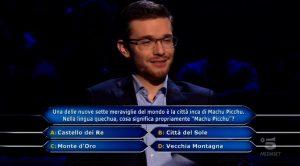 Chi vuol essere milionario? Chi è Alessio Ciani, il 26enne che ha vinto 150mila euro