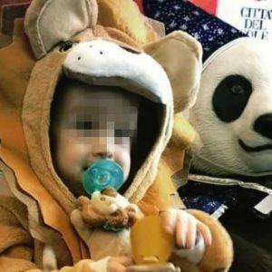 Il piccolo Alex ce l'ha fatta: Eccolo vestito da leoncino per Carnevale2