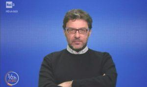 """Arbitro picchiato in Puglia, Giorgetti a Rai 3: """"La misura è colma"""""""
