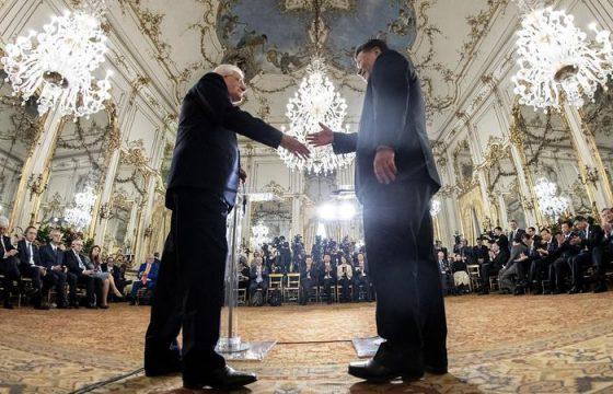 Xi Jinping a Roma: il brindisi con Mattarella al Quirinale4