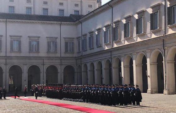 Xi Jinping a Roma: il brindisi con Mattarella al Quirinale7