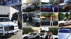 Cristiano Ronaldo, Rolls-Royce si unisce a sua collezione auto di lusso