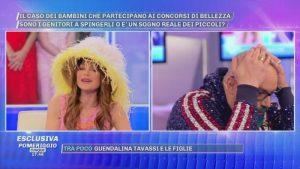 Guendalina Tavassi e la gaffe con Deianira Marzano a Pomeriggio 5