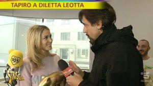 """Striscia la Notizia, Tapiro d'Oro a Diletta Leotta. La frecciatina a Paola Ferrari: """"Lei..."""""""