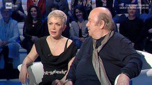 """Domenica In, Rosanna Banfi si sfoga col padre Lino: """"In Italia devi essere malata per..."""""""