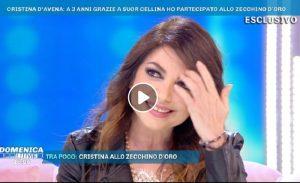 """Domenica Live, Cristina D'Avena racconta: """"Mi urlano puffale"""". E Barbara D'Urso..."""
