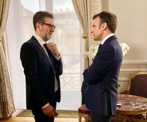 """Che tempo che fa, Fabio Fazio intervista Macron. Giorgia Meloni: """"Chieda conto delle politiche neocoloniali francesi"""" VIDEO"""