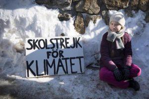 Greta Thunberg e le altre che lottano contro il cambiamento climatico: Anuna De Wever, Kyra Gantois, Luisa Neubauer, Alexandria Villasenor