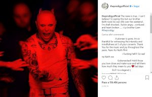 Keith Flint morto, Prodigy confermano suicidio su Instagram