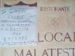 Montescudo (Rimini), assume un pizzaiolo nero: scatta il boicottaggio del locale