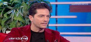 Luca Capuano e la confessione a Caterina Balivo sulla sua carriera