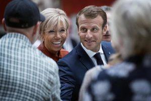 Macron e Brigitte si sono conosciuti grazie a Eduardo De Filippo