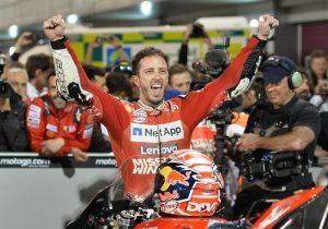 MotoGp, respinto reclamo contro Ducati: confermata vittoria di Andrea Dovizioso in Qatar