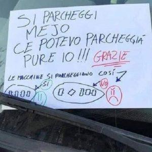 cartello auto roma facebook