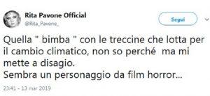 """Rita Pavone: """"Greta Thunberg? Personaggio da film horror"""". Poi si scusa: """"Non sapevo avesse l'Asperger"""""""