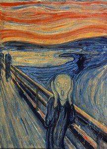 """L'urlo di Edvard Munch, British Museum: """"Uomo raffigurato nel quadro non sta urlando"""""""