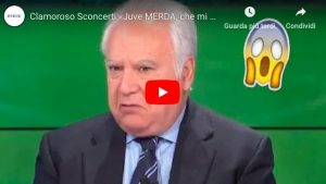 """Mario Sconcerti: """"Juve m***a"""" in diretta tv, poi si scusa sul Corriere della Sera"""