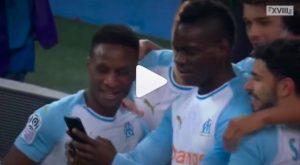 Balotelli gol al Saint Etienne ed esultanza in diretta Instagram: VIDEO