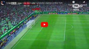 Brian Lozano, gol con pallonetto da dopo il centrocampo nella Champions League CONCACAF